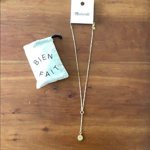 •Madewell• coin necklace NWT